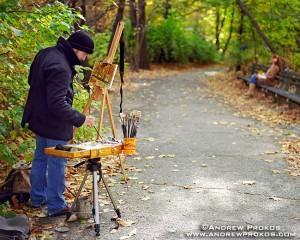 central-park-painter